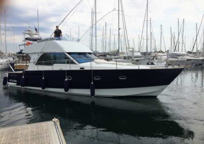 Covering wrapping bateau Antares 1380 - Pornichet
