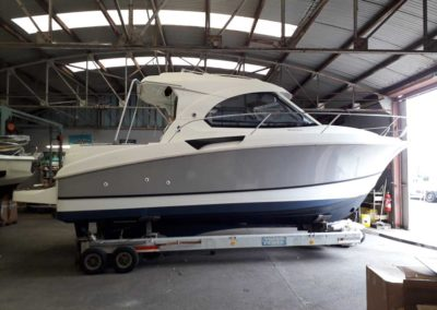 Covering wrapping bateau Antares 8 - Noirmoutier