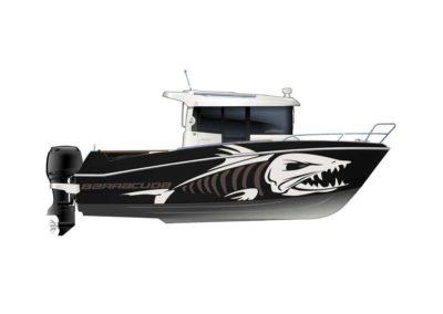 bateau Barracuda 7 - maquette barracuda