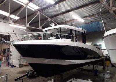 Covering wrapping bateau Barracuda 8 - Saint Gilles Croix de Vie