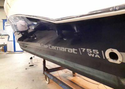 Covering wrapping bateau Cap Camarat 755 WA - Le Croisic