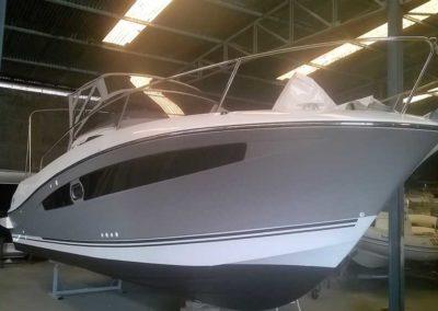 Covering wrapping bateau Cap Camarat 8.0 WA - La Tranche sur Mer