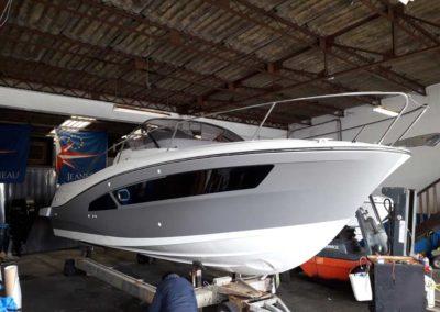 Covering wrapping bateau Cap Camarat 9.0 WA - La Tranche sur Mer