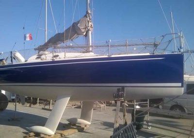 Covering wrapping bateau Django 750 - Les Sables d'Olonne