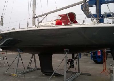 Covering wrapping bateau Etap 37 S - Herbaudiere