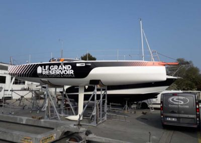 bateau Figaro 3 Le Grand Reservoir