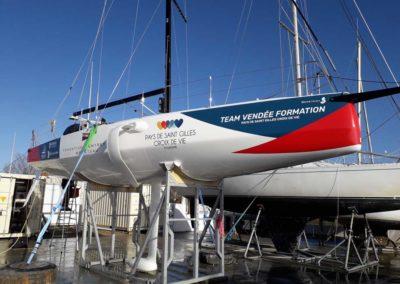 bateau Figaro 3 Team Vendee