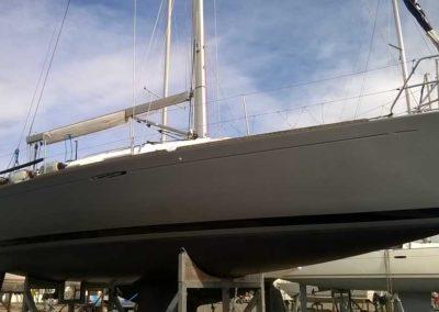 Covering wrapping bateau First 36.7 - Saint Gilles Croix de Vie