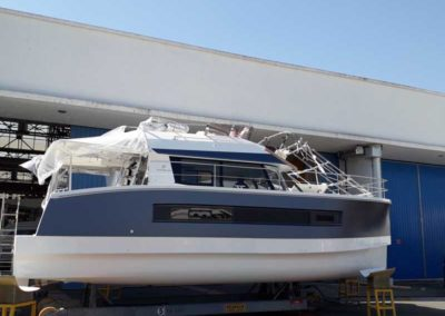 Covering wrapping bateau Fountaine MY 37 - Marina del Rey, Califormie
