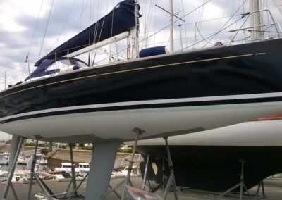 Covering wrapping bateau Grand Soleil 37 - Le Crouesty