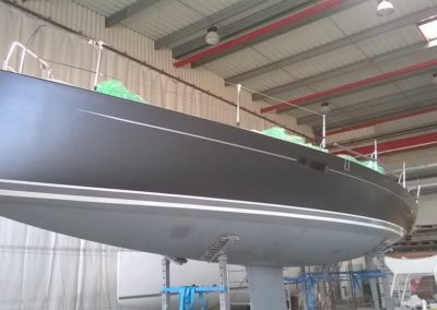 Covering wrapping bateau J112 E