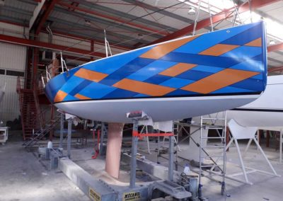 Covering wrapping bateau J99 Impression personnalisee