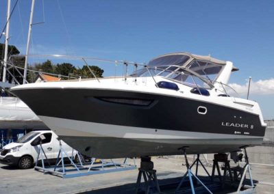 Covering wrapping bateau Leader 8 - Pornic