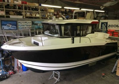 Covering wrapping bateau Marlin 855 - Port Bourgenay
