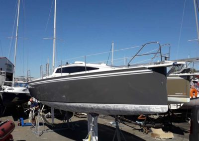 Covering wrapping bateau Maxxus 26 - La Rochelle