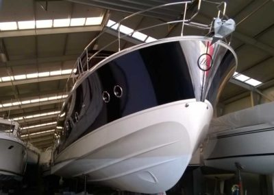 Covering wrapping bateau Monte Carlo 6 - Pays Bas
