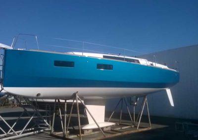 Covering wrapping bateau Oceanis 35.1 - Saint Gilles Croix de Vie