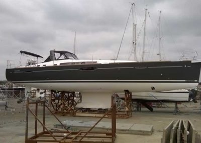 Covering wrapping bateau Oceanis 60 - Pornic
