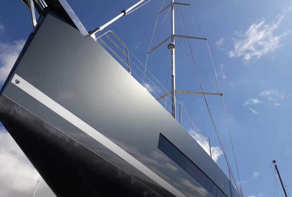 Covering full Oceanis Yacht 62