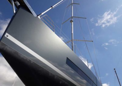 Covering wrapping bateau Oceanis Yacht 62 - Fidji