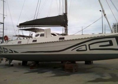 bateau Outremer 45 - realisation client