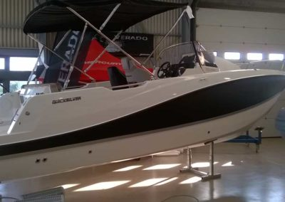 Covering wrapping bateau Quicksilver 755 Open - Piriac sur Mer