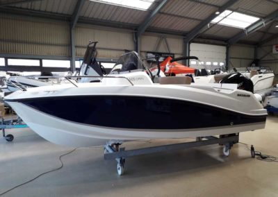 Covering wrapping bateau Quicksilver Activ 505 - Piriac sur Mer