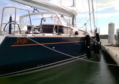 bateau Sense 55 - personnalisation déco d'origine