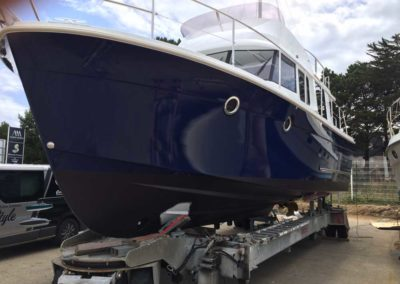 Covering wrapping bateau Swift Trawler 34 - Le Crouesty