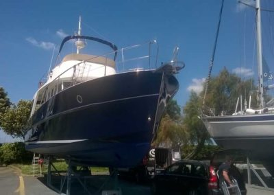 Covering wrapping bateau Swift Trawler 42 - La Rochelle