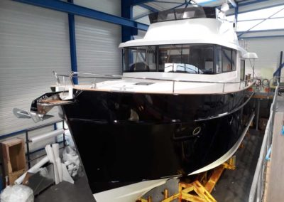 Covering wrapping bateau Swift Trawler 50 - Royan