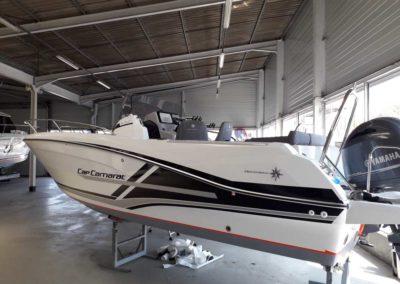 bateau cap camarat 650 - réalisation client - Saint GIlles Croix de Vie