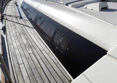 bateau coutour hublots Océanis 45