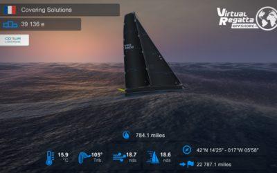 Suivez notre bateau sur Virtual Regatta !
